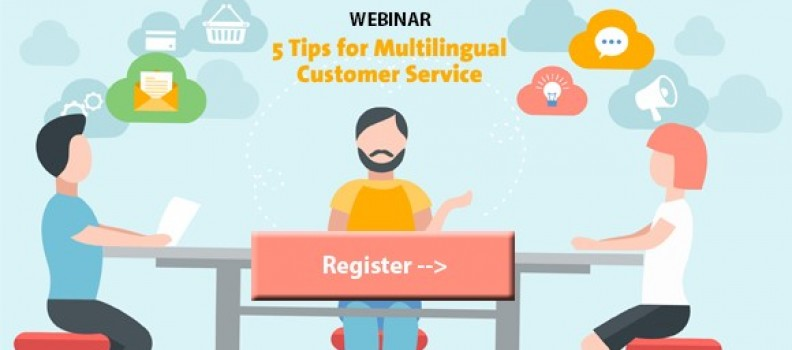 Webinar: 5 tips for multilingual customer service